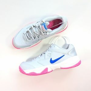 Nike Court Lite 2 Pure Platinum/Racer Blue Women's